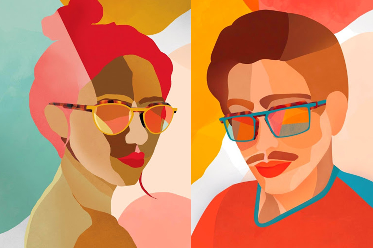 Illustratie Pierre Eyewear